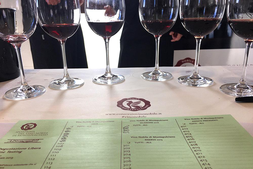 anteprima del vino nobile montepulciano
